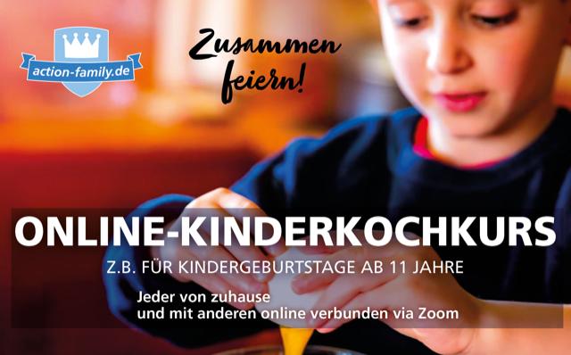action-family-onlinekurse Kindergeburtstag